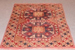 Antique Holbein rug