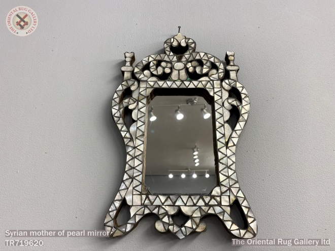 Syrian mother of pearl mirror