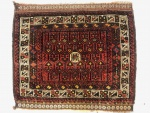 Kurdish Baluch bag face