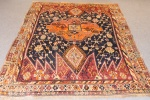 Antique Shahzavan carpet