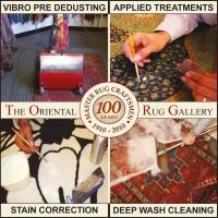 RUG CLEAN! REVIVE! RESTORE! AT THE ORIENTAL RUG GALLERY LTD