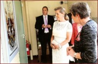 HRH THE COUNTESS OF WESSEX MEETS THE ORIENTAL RUG GALLERY LTD