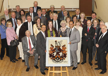 Mayoral Inauguration of The Coat of Arms Weaving