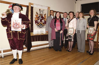 Mayoral Reception of The Oriental Rug Gallery Ltd's Weaving