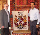 Mike Cashman visits The Oriental Rug Gallery Ltd