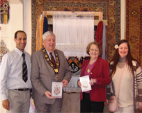 The Mayoral Launch of Open Weave at The Oriental Rug Gallery