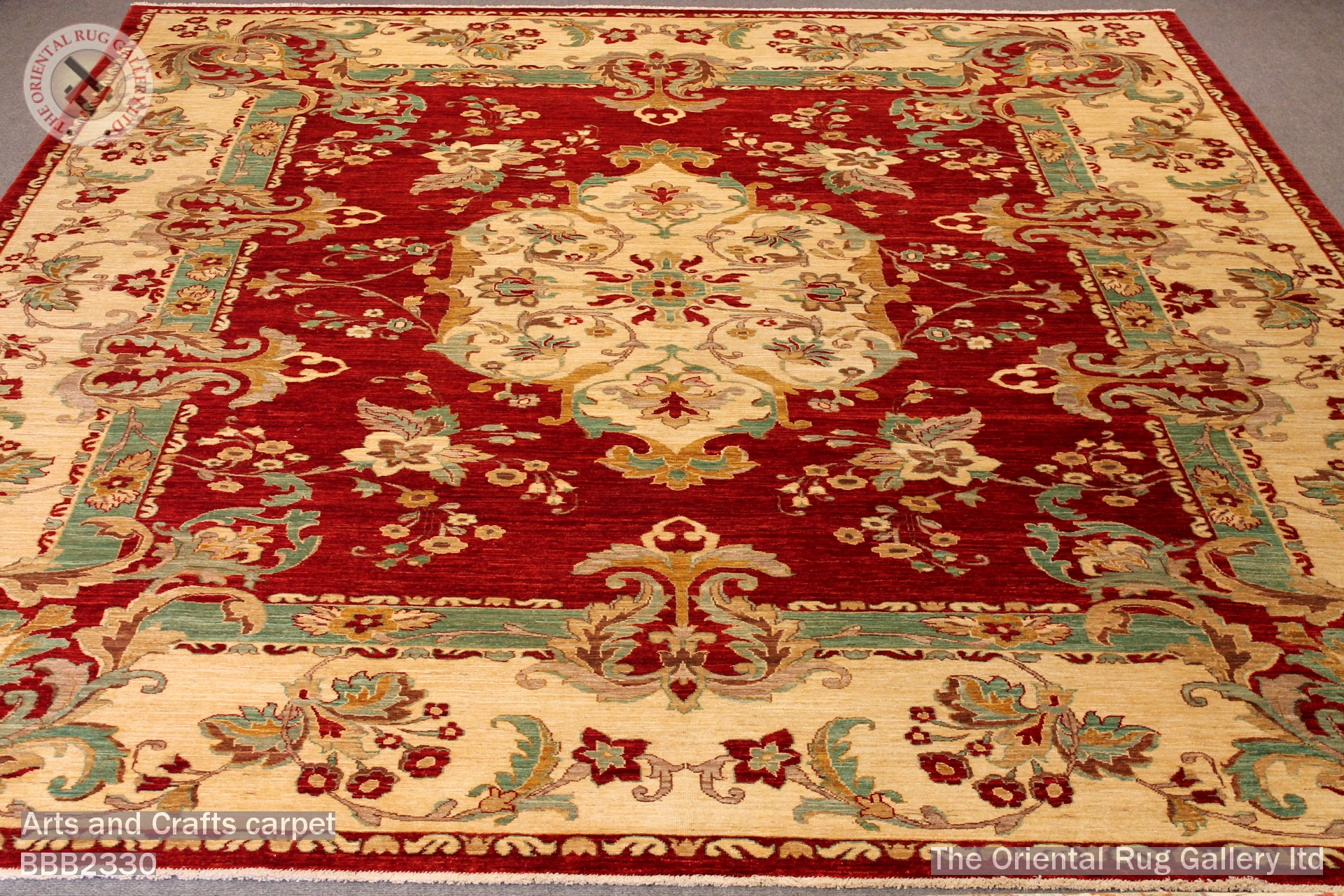 The oriental rug gallery ltd rugs carpets gallery for Arts and crafts carpet