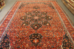 Antique Shalamzar carpet