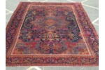 large antique Heriz carpet