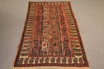 Antique Shahzavan long rug