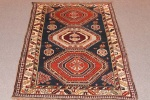 Antique Derband rug