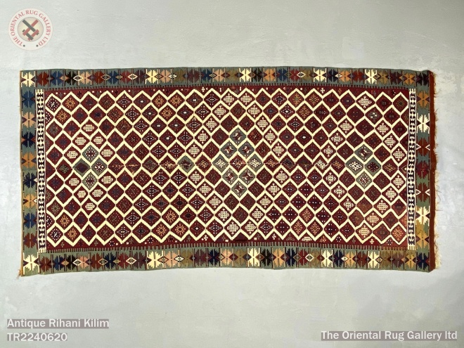 Antique Rihani Kilim