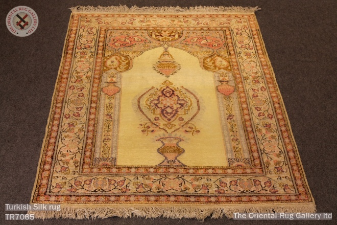 Turkish Silk rug