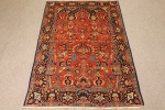 Antique Kashan rug