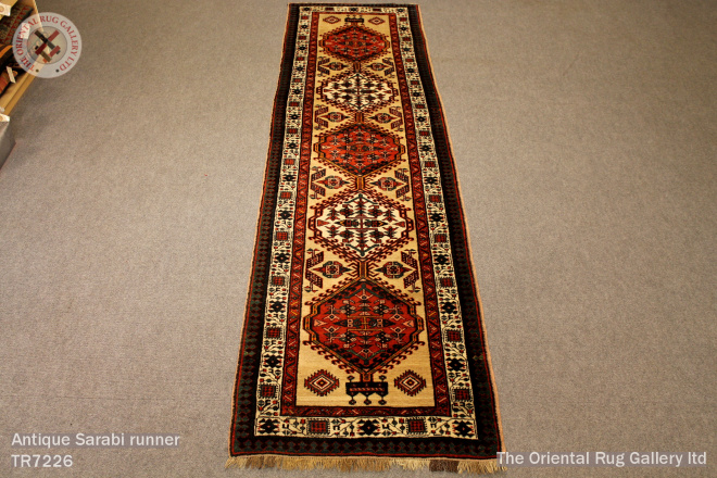 Antique Sarabi runner