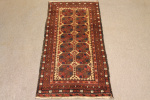 Antique Arabic Baluch rug