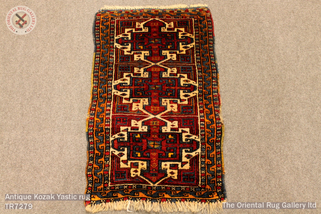 Antique Kozak Yastic rug