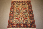 Antique Qum rug
