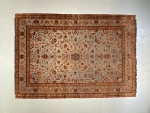 Antique Souf Kashan rug