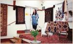 Sandre Blake Director of The Oriental Rug Gallery Ltd Talk on hand-weavings at Haslemere Festival.jpg