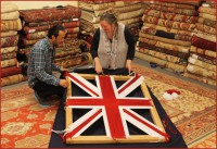 A HAND-WOVEN CELEBRATION FOR HER MAJESTY QUEEN ELIZABETH II