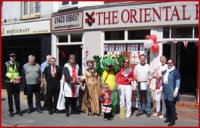 ST GEORGE'S DAY 2010 FESTIVITIES AT THE ORIENTAL RUG GALLERY LTD!