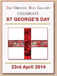 RED AND WHITE CELEBRATIONS FOR ST GEORGE'S DAY 2014