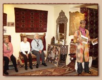 'A JOURNEY OF WEAVES ACROSS THE ORIENT' TALKS & RUG DEMONSTRATIONS
