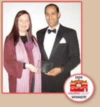 WINNERS! HASLEMERE & DISTRICT CHAMBER AWARD 2009